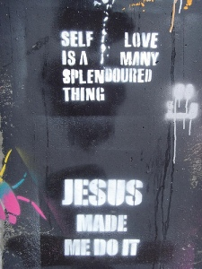 self love grafitti