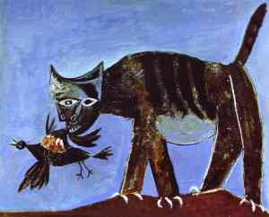 picasso-wounded-bird-and-cat