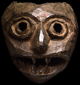 devouring mother tribal mask